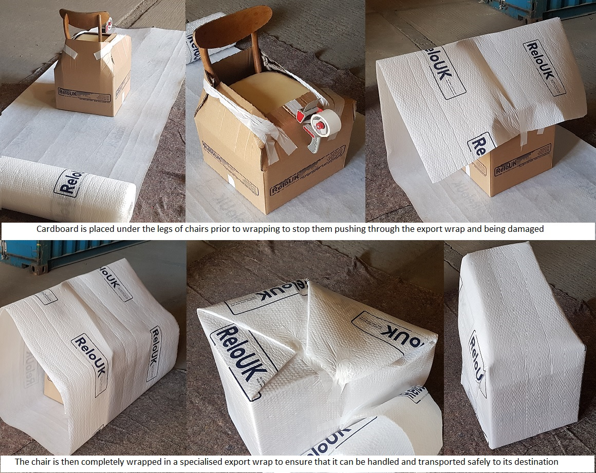Export Wrapping Furniture