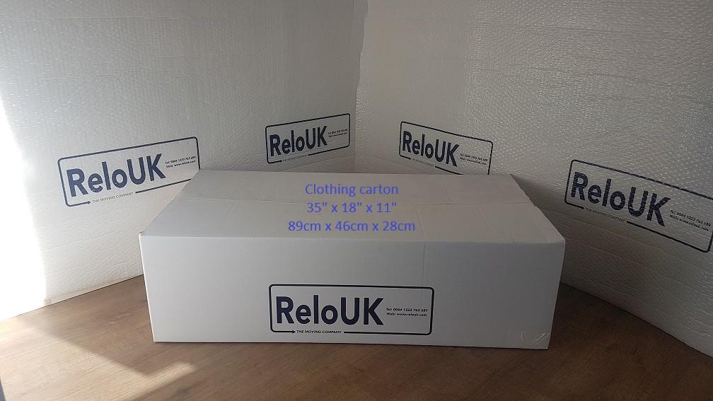 Clothing/Linen Carton